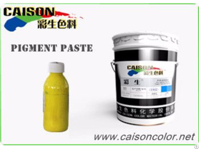 Cth 2210 Light Yellow Water Based Pigment Paste