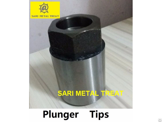 Plunger Tips Injection Head For Aluminum Die Casting