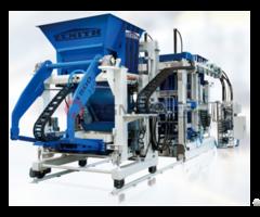 Zenith 1500 Fully Automatic Stationary Single Pallet Concrete Block Making Machine