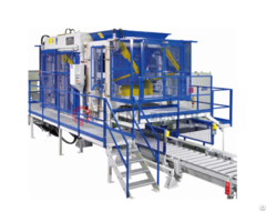 Zenith 844 Fully Automatic Stationary Multilayer Concrete Block Making Machine