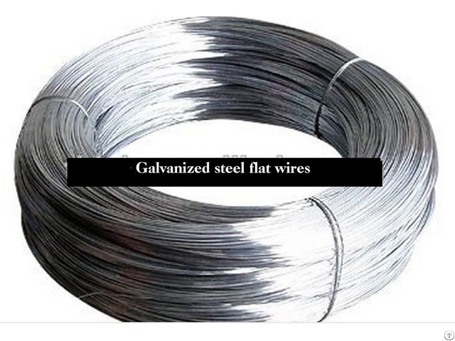 Galvanized Steel Flat Wires