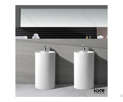 Hotel Construction Solid Surface Bathroom Sinks