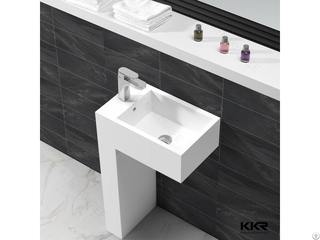Acrylic Stone Bathroom Basins