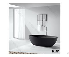 Solid Surface Shower Room Black Bath Tubs