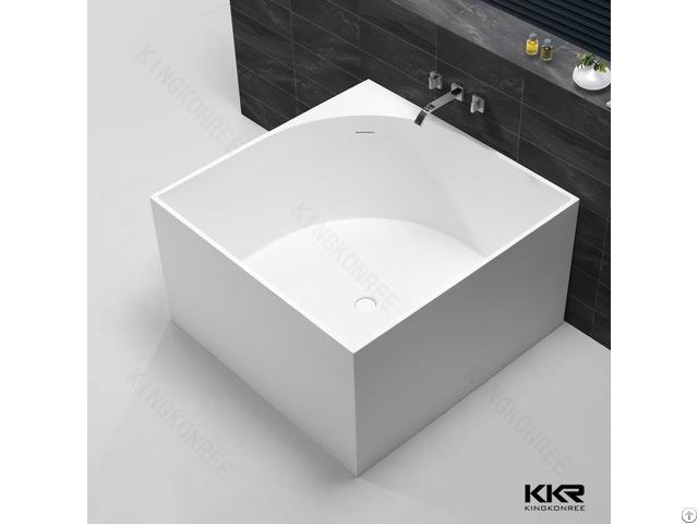 Hotel Bathroom Custom Size Square Bathtub