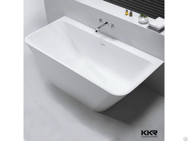 China New Design Bath Tubs Artificial Stone Material