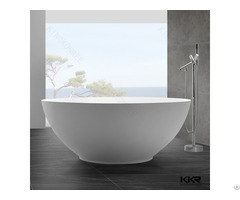 Man Made Stone Free Standing Bowl Bathtub
