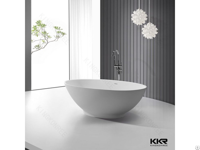 Kkr Factory Supply 180cm Oval Bathtubs
