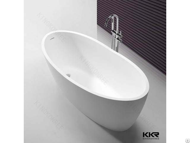 Bathroom Acrylic Stone 1650mm Bathtub