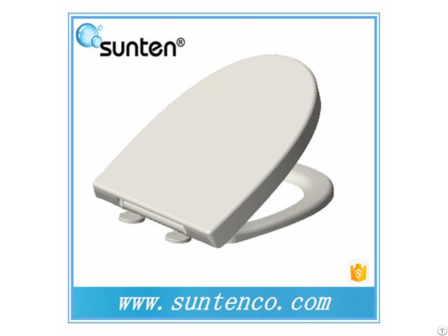 Xiamen White Sanitary Ware Oval Soft Close Toilet Seat Supplier