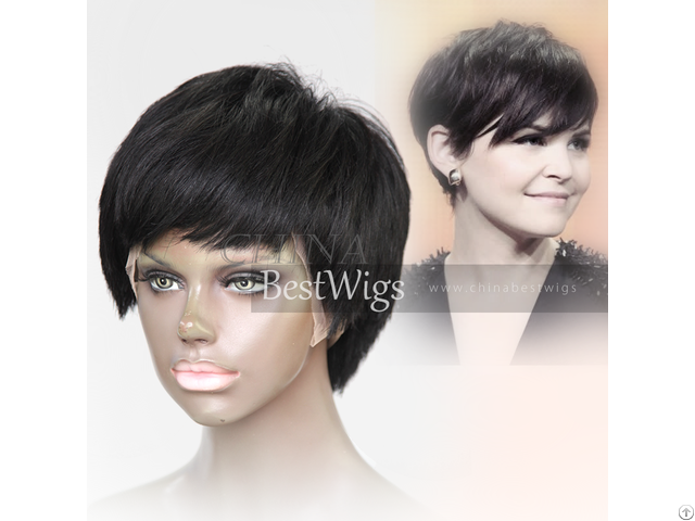 Short All Machine Made Wig