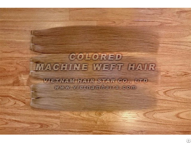 Machine Weft Natural Human Hair Wholesale Price Vietnamese