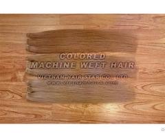 Machine Weft Natural Human Hair Wholesale Price Vietnamese