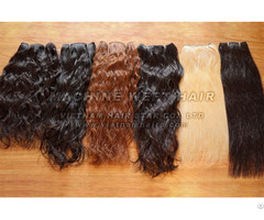 Human Remy Hair Machine Weft