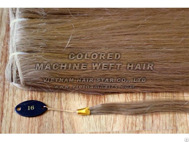 Machine Weft Natural Human Hair