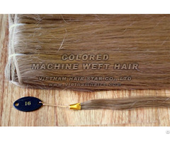 Machine Weft Natural Human Hair