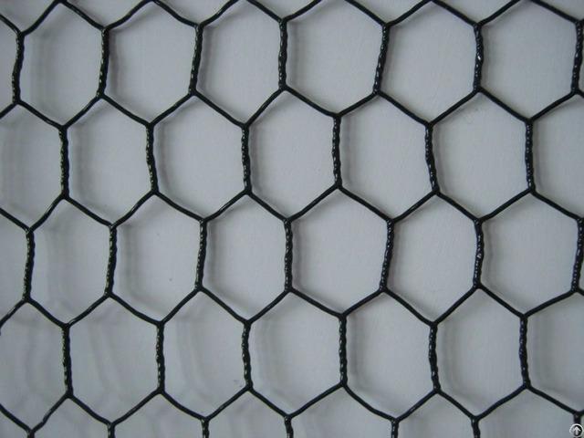 Black Vinyl Coating Galvanized Chicken Wire