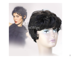 Short All Machine Made Wigs