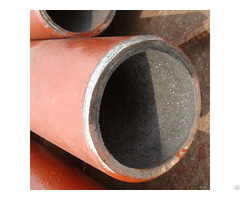 Alumina Ceramic Abrasive Lined Steel Pipe