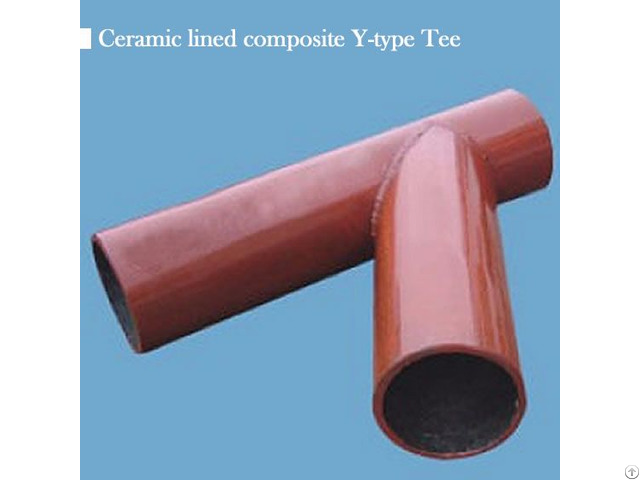 Sell Ceramic Lined Y Type Tee
