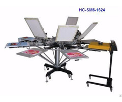 Manual 6 Color Screen Printer
