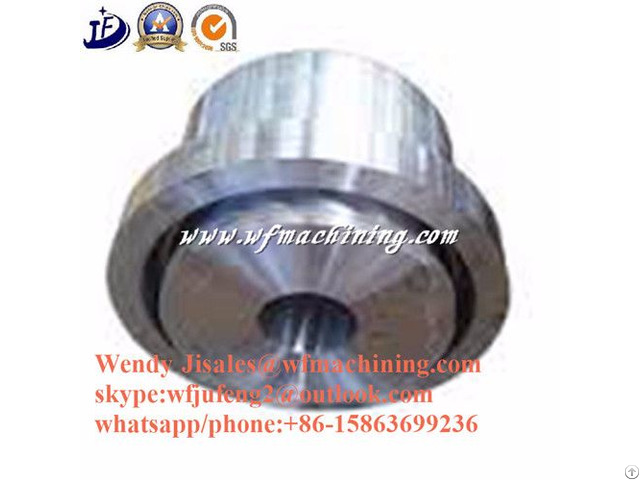 Carbon Steel Forging Parts With Iso Certification
