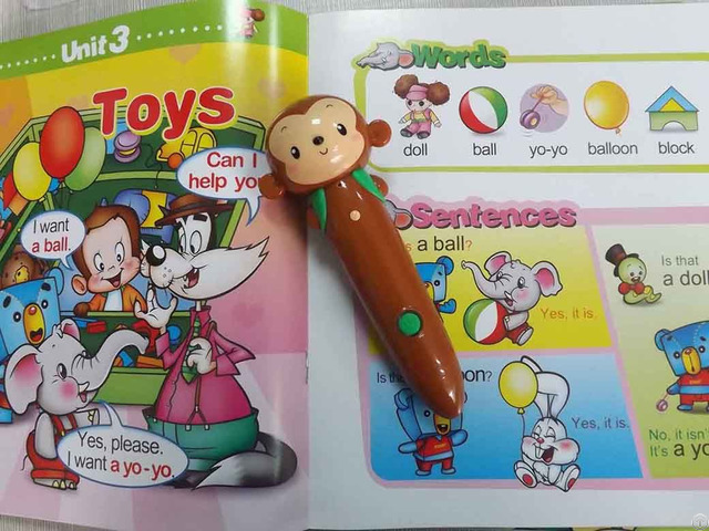 The Hot Sales Book With Sounds Module For Kids Learning Talking Pen