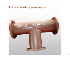 Sell Wear Resistant Alloy Composite Pipe Tee