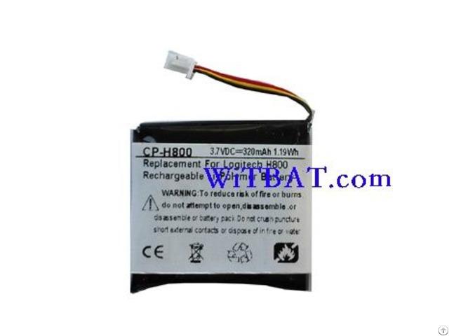 Logitech H800 Headset Battery 993 000565