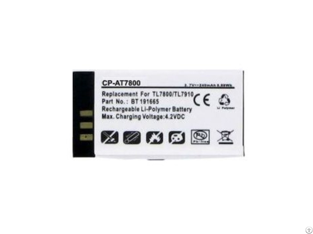 At And T Tl7800 Battery Bt191665