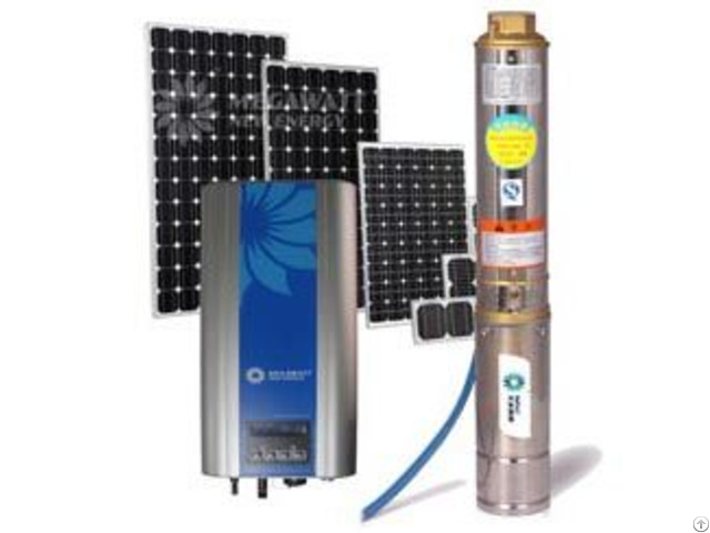 Solar Powered Water Pumping System Structure