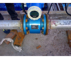 Battery Operated Magnetic Flow Meter