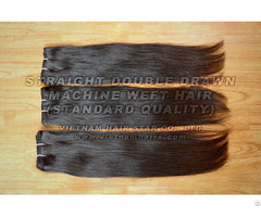 Human Remy Machine Weft Hair