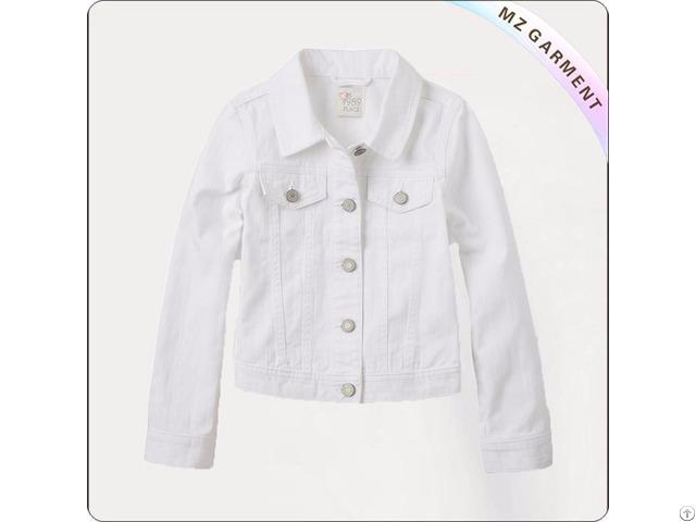 Kids White Jacket