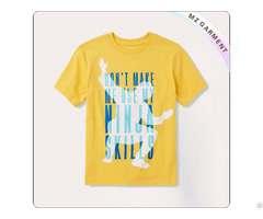 Kids Yellow Tee Shirt