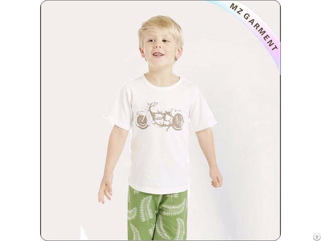 Kids White Tee Shirt