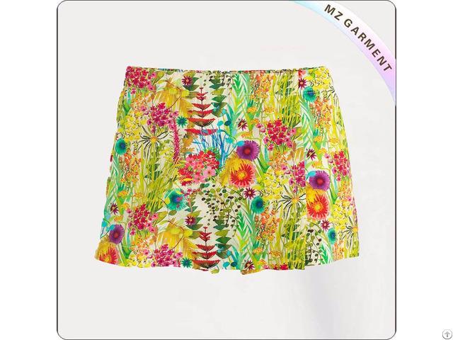 Kids Summer Print Skirt