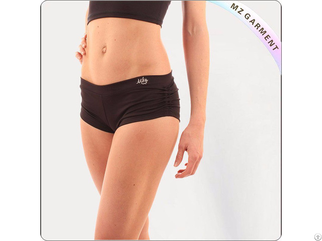 Black Short Yoga Wear