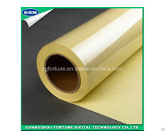 Yellow Back Transparent Double Side Self Adhesive Film