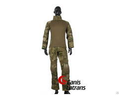 Battledress Hunting Clothing Combat Army Tactical Gear Shirt Military Police Bdu Set With Knee Pads
