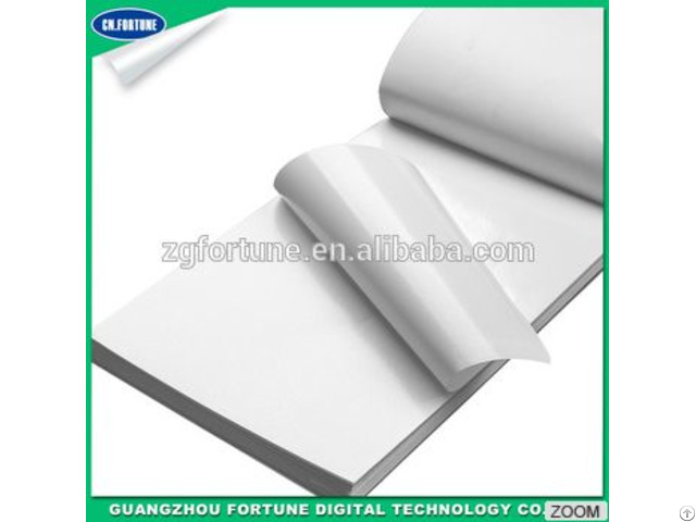 Free Sample Transparent Glue Glossy Printed Self Adhesive Vinyl Rolls