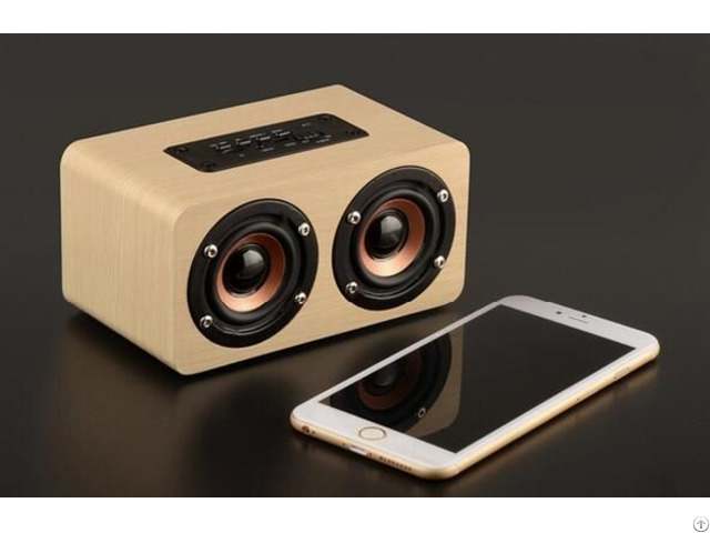 W5 Wood Bluetooth Speaker