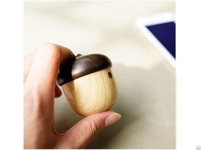 Creative Wood Nut Bluetooth Gift Speaker