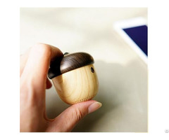 Creative Wood Nut Bluetooth Gift Speaker