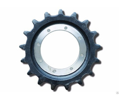 Drive Sprockets For Excavators And Bulldozers