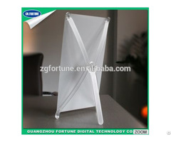 Low Price Korean Style Transparent Mini Desktop Display X Stand