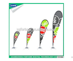 Cheap Advertising Teardrop Beach Banner Flags