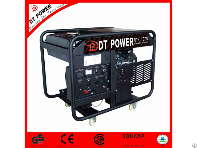 Silent Digital Control Panel High Power Gasoline Generator