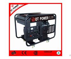 Silent Digital Control Panel High Power Gasoline Generator
