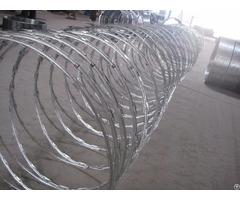 Galvanized Razor Wire
